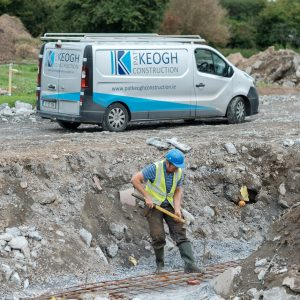 Keogh Construction at Sycamore Drive. Advertising photography by Paul Corey
